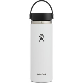 Hydro Flask Wide Mouth Bottle 591ml white